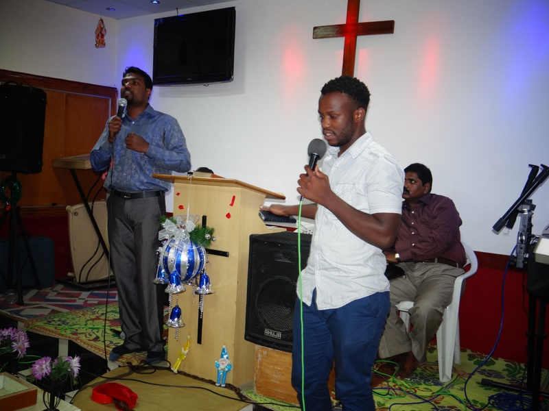 Anointed singer from SA